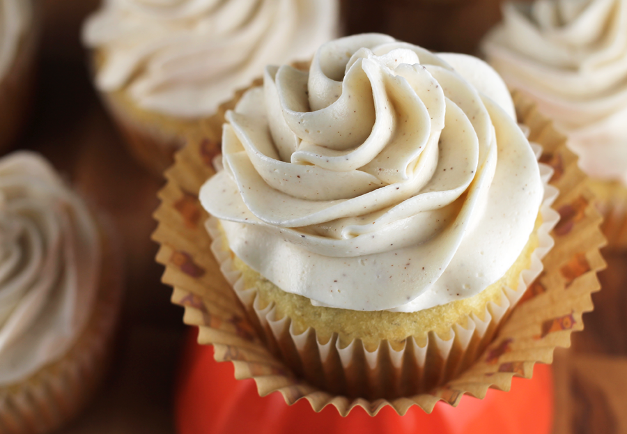 Banana Cupcakes With Honey-Cinnamon Frosting Recipes — Dishmaps