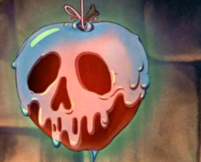 Poison Apple Sugar Cookies - AngelicaMadeMeAngelicaMadeMe