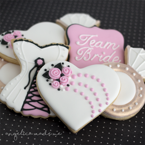 Bachelorette Decorated Cookie Set