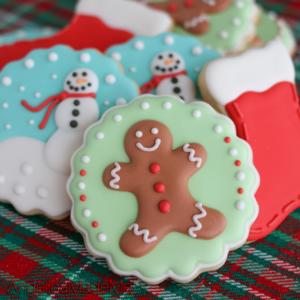 Gingerbread Man & Christmas Sugar Cookie Set