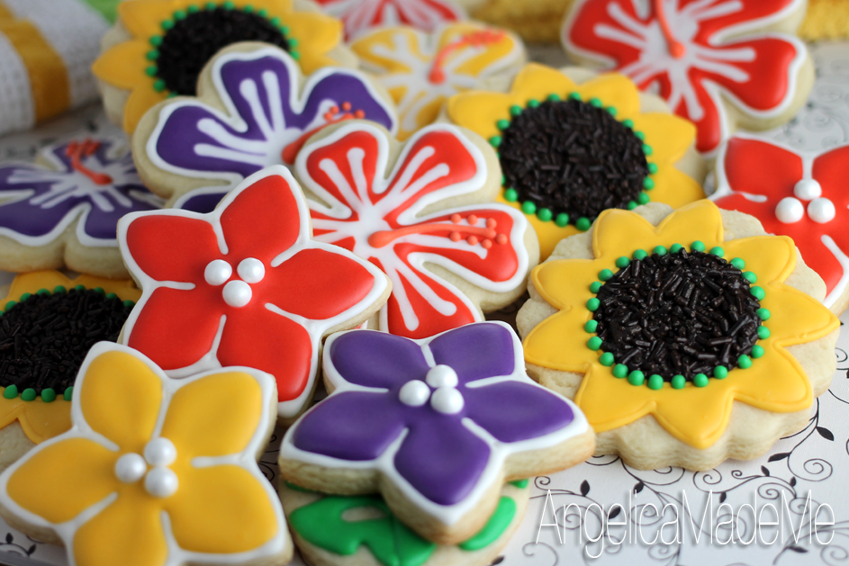 Garden Party Decorated Cookies