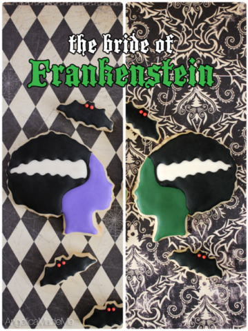 Bride of Frankenstein Sugar Cookies