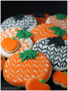 Halloween Pumpkin Sugar Cookies