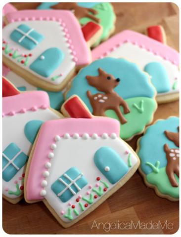 Woodland Cottage Sugar Cookies